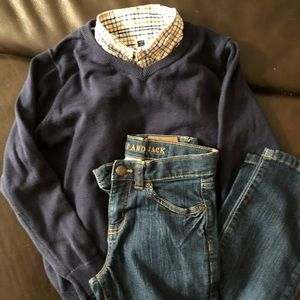 Boys Janie & Jack Bundle - sz 7